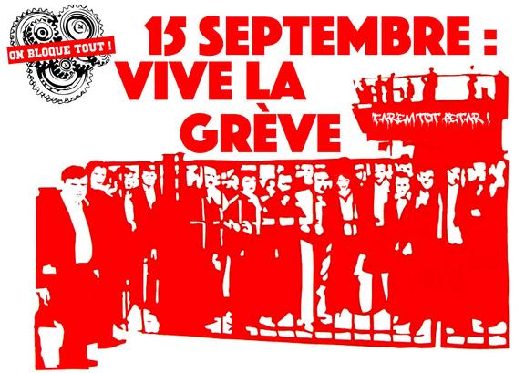 Fransa: 15 Eylül'deki Genel Greve Liman İşçileri De Katılacak
